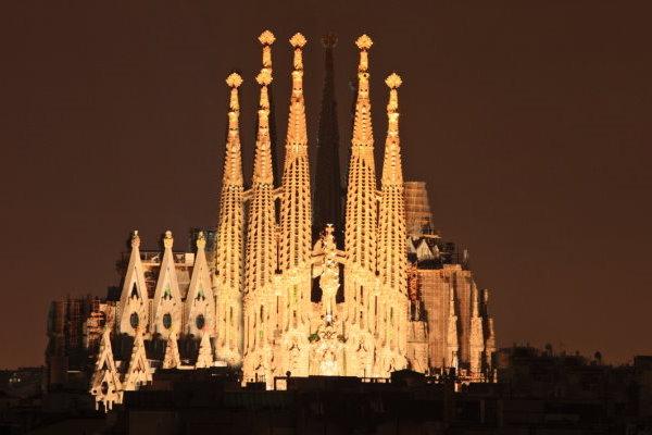 Reiseziele in Europa - Die Sagrada Familia in Europa