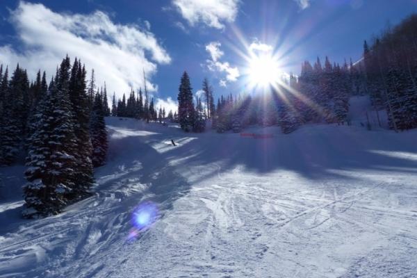 Skifahren in Park City USA