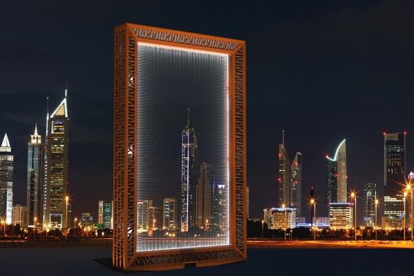 Dubai Frame - der etwas andere Wolkenkratzer