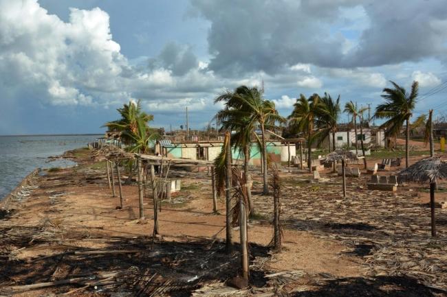 Verwüstete Karibik-Insel