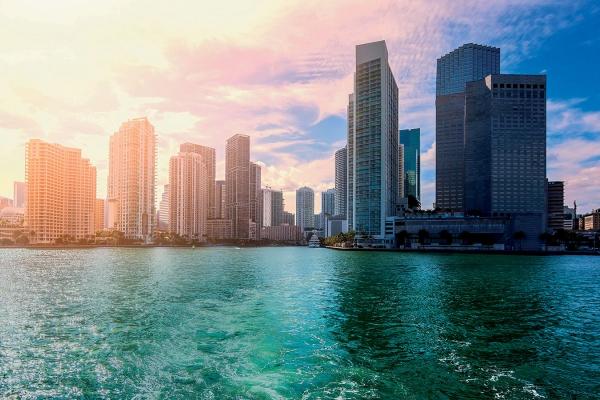 In Miami Urlaub machen