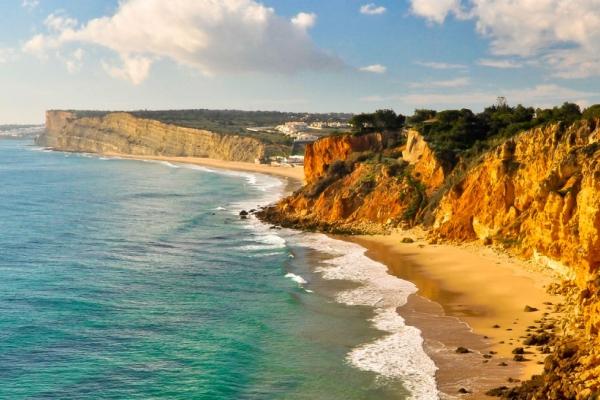 Traumstrand der Algarve