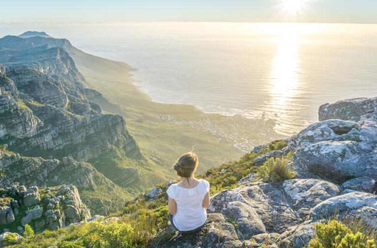 Der Tafelberg vor Kapstadt