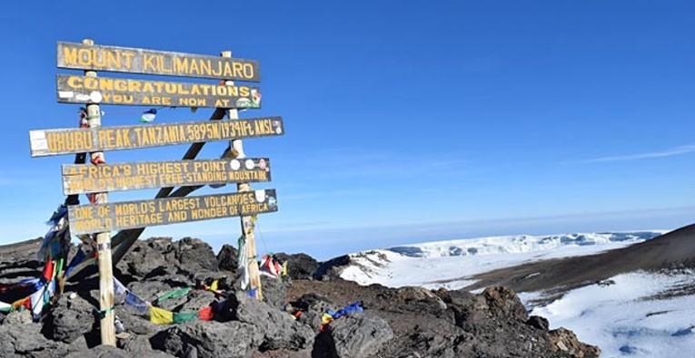 Gipfel des Kilimandscharo