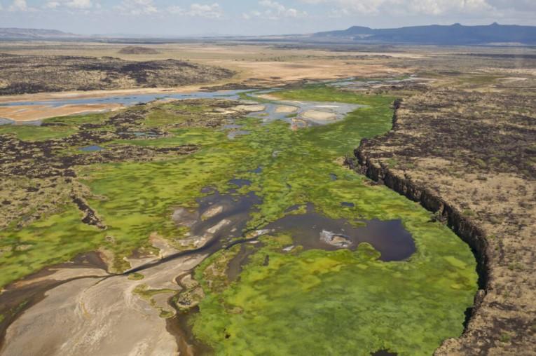 Das Rift Valley in Afrika