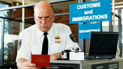 Immigration Officer der USA