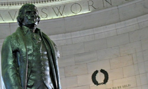 Das Jefferson-Memorial in Washington