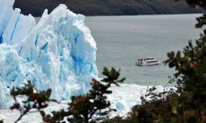 Bott vor dem Perito Moreno