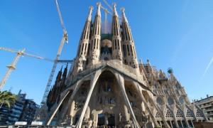 Eingangsportal der Sagrada Familia